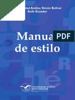 Manual de Estilo 2014