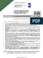 Uff Edital 218 2013 Assistenteadministracao