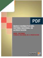 Marco Normativo CNA 2016