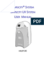Simplicity System User Manual.03.2006 Rev0