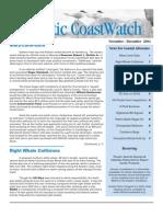 Nov-Dec 2004 Atlantic Coast Watch Newsletter
