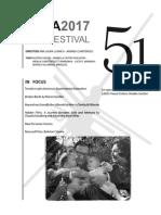 Film Festival Program 2017