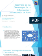 1- Desarrollo de Las Tecnologías de La Información