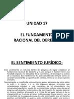 Unidad 17 Filosofia Del Derecho