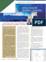 Exutorios y Sprinklers (Interaccion)