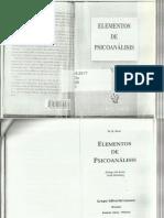 Bion, W. R. - Elementos de Psicoanálisis - Ed. Lume - Horné.pdf