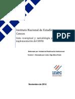 06. Guía Conceptual y Metodología Para La Implementación Del SEVRI