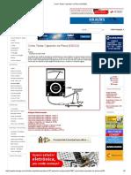Como Testar Capacitor Na Placa (INS232)