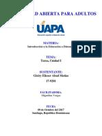 Universidad Abierta Para Adultos Introducción a La Educación a Distancia (Tarea i)