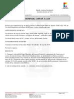 Decreto de Ángel Mariscal que negaba a IU el acceso al registro electrónico