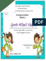 Diploma Pre Kinder