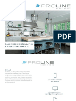Proline Range Hoods Installation Guide