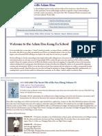 DVD Kung Fu With Adam Hsu