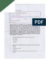 Droit privé EXAM 2013 - Question + réponse