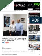 09-09-17 -Va Oscar Alberto Cano Jiménez por CNOP Hermosillo