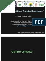 Cambio Climatico y Energias Renovables - Velazquez 2009