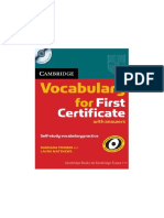 Cambridge Vocabulary for Fce Full