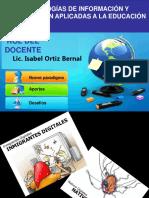 Rol Del Docente Con Tics