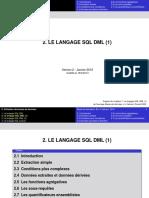 04 Utilisation Des BD (SQL DML 1)