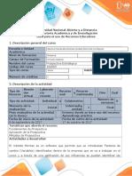 Guía para el uso de recursos educativos - Software Micmac