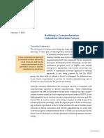 ARC - Building a Comprehensive Industrial Wireless Future