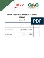 Informe de Montaje de Plataforma de Acceso a Camiones