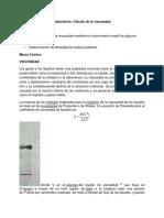 Laboratorio 2. Viscocidad (1)