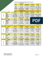 specials schedule 2017-18 aug 29