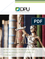 Apostila Novo CPC e suas alterações
