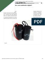Como Testar Capacitor Com Multímetro Digital_ - Mundo Da Elétrica