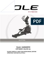 Elliptical Sole E95-User Guide