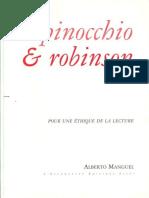 Manguel, Alberto - Pinocchio & Robinson ( L'Escarpolette Éditions)