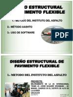 Diseño de Pavimentos Flexible