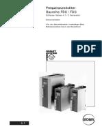 Frquenzumrichter Baureihe FDS 3-Generation