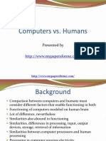 Computers vs Humans 1