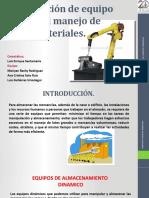 2.3 SELECCION DE EQUIPO PARA MANEJO DE MATERIALES..pptx