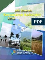 Statistik Daerah Kecamatan Kaliwates 2016