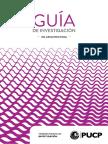 Guia de Investigacion en Arquitectura - Pucp