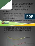 Modelo de lote economico