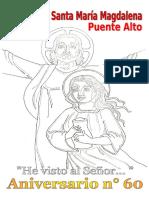 Borrador Poster Aniversario 2017 Parroquia María Magdalena