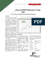 EPDM Caracterização