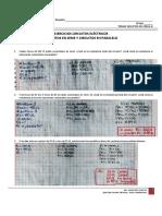Solución Ejercicios Circuitos Eléctricos, Serie y Paralelo