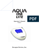 Aqualab Lite Manual