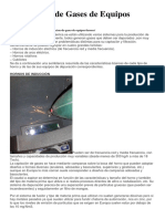 Depuracion de Gases de Equipos Fusores