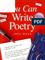 You Can Write Poetry