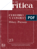 Cerebro y Conducta (Hilary Putnam)