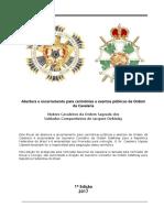 ABERTURA PUBLICA CAVALARIA DEMOLAY