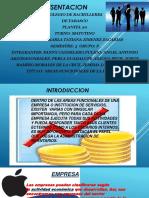 EQUIPO #6 AREAS FUNCIONALES DE LA EMPRESA.pptx