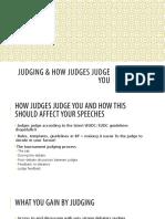 2016 Judging & How Judges Judge You (1)