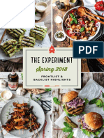 The Experiment Spring 2018 Catalog